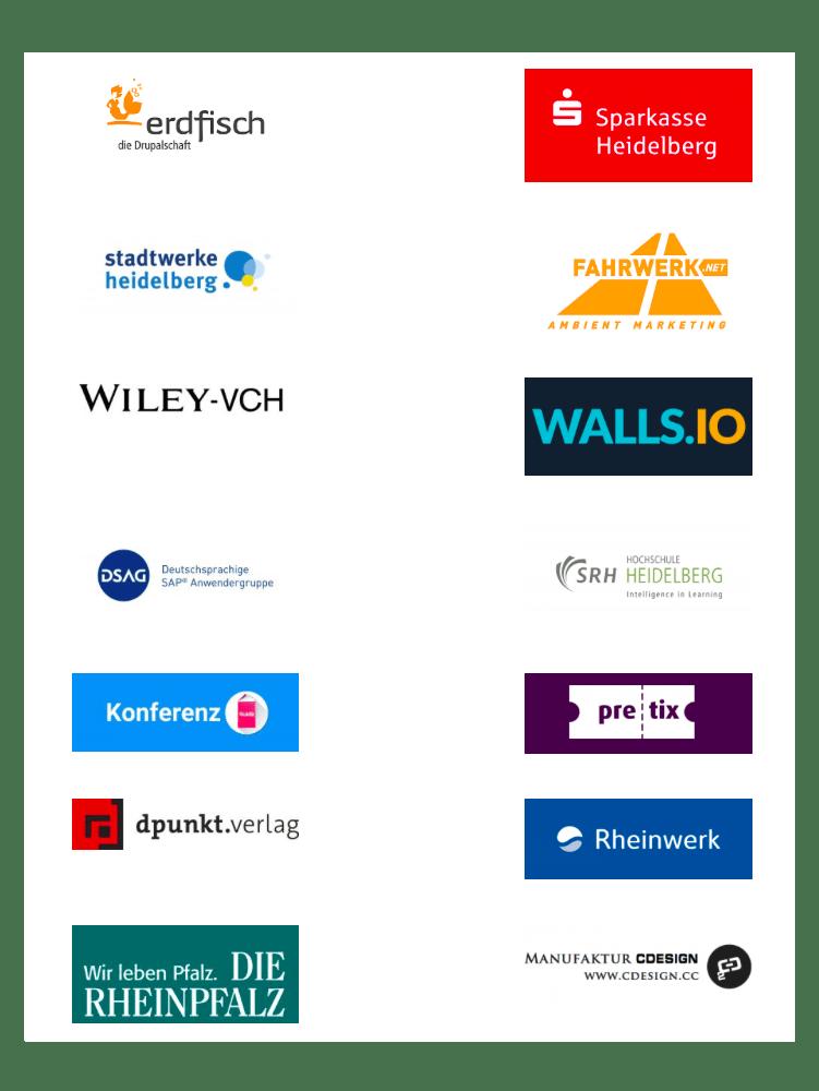 Alle Sponsorenlogos auf einem Blick