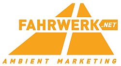 Logo der Firma Fahrwerk Ambient Marketing