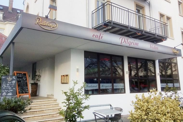Café Pilgrim von außen