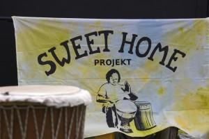Hier ist das Plakat des SweetHomeProjects zu sehen.