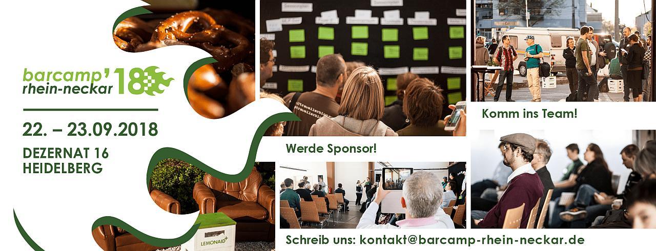 Header Barcamp Rhein-Neckar 2018