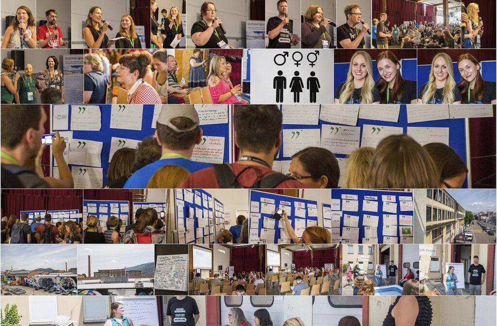 Auswahl einiger Fotos vom Literaturcamp im Juni 2018