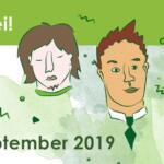 Waagrecht breites Banner, mit der Aufschrift Ich bin dabei beim Barcamp Rhein-Neckar 07.-08. September 2019