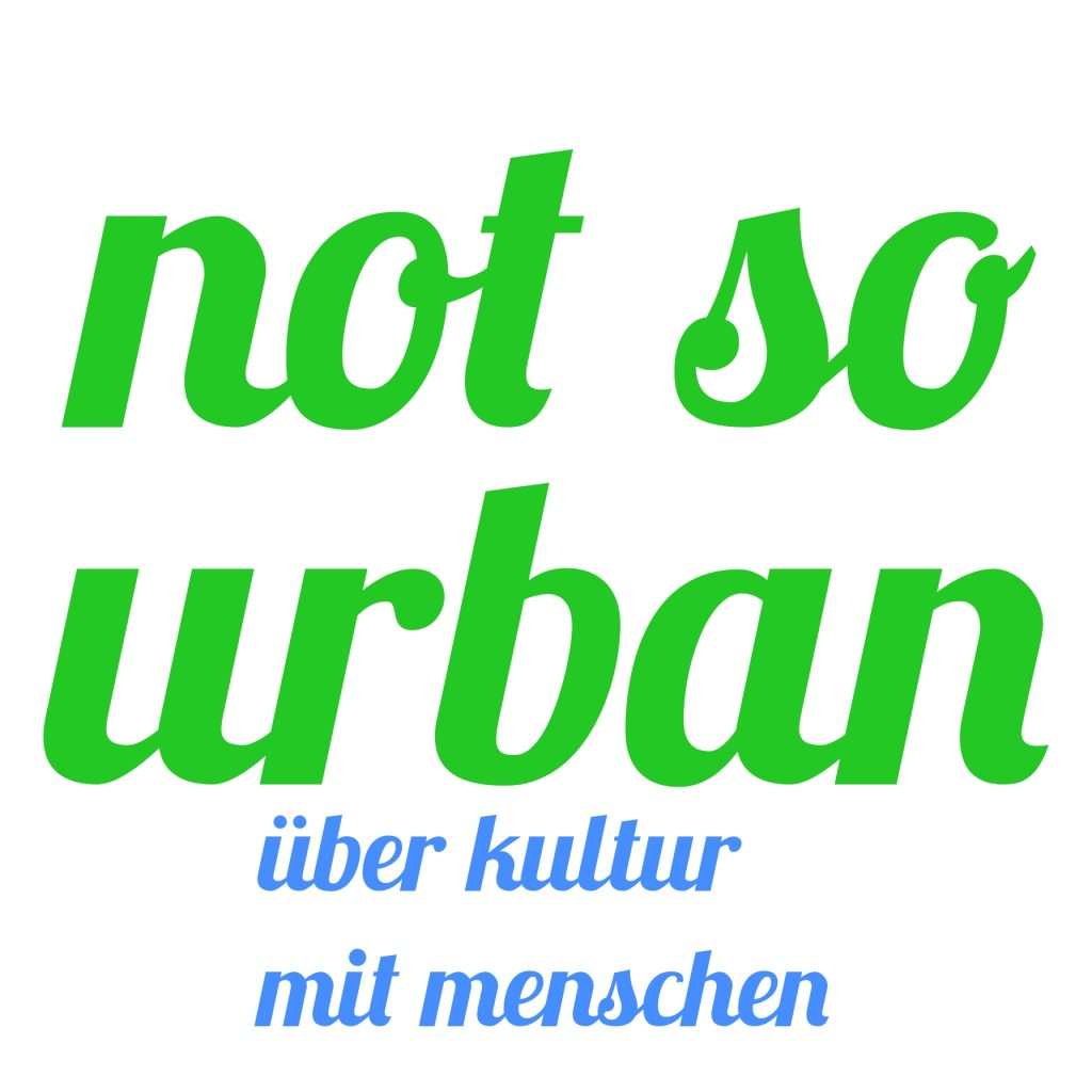 Logo des not so urban Podcast.