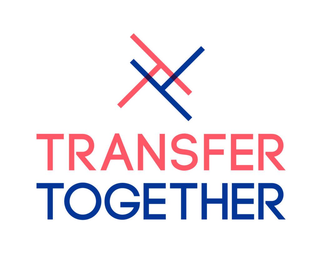 Logo mit der Aufschrift Transfer Together