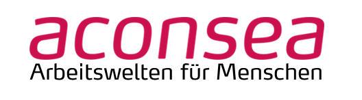 Logo aconsea, Arbeitswelten Menschen